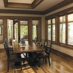 Elegant Wood Windows -