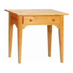Renovators Supply - End Tables Heirloom Pine Enfield End Table 27 1/2 H x 30 W | 178015 - End Table. Enfield Classic Amercian is always in style! Perfect for a foyer or hall. Crafted of solid pine with an Heirloom finish. This table meeasures 27 1/2 H x 30 W x 16 proj.