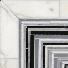 Eclectic Mosaic Tile by Rebekah Zaveloff   KitchenLab