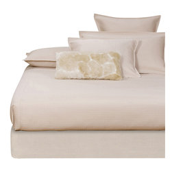 Howard Elliott - Sterling Sand Full Boxspring Cover - The boxspring cover works as a fitted bed skirt. Textured sand cover provides the perfect base for your fits most standard size boxspring mattresses.