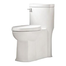 American Standard - American Standard Boulevard Flowise Right Height Elongated One-Piece Toilet - American Standard 2891.128.020 Boulevard Flowise Right Height Elongated One-Piece Toilet, White