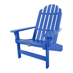 Pawleys Island - Adirondack Chair by Pawleys Island, Blue - Whether you're relaxing or entertaining outdoors with friends and family, you are going to need some furniture to make it possible.