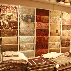 Designer Rugs Showroom - Just a sampling of all the designs we carry!