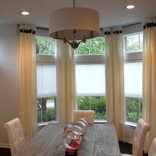 Contemporary Roller Shades by Made in the Shade of San Antonio