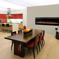 Electric Contemporary Fireplaces - Visit Showroom Partners online to see Dimplex electric fireplaces and all of the products we offer furnished and installed nationwide.