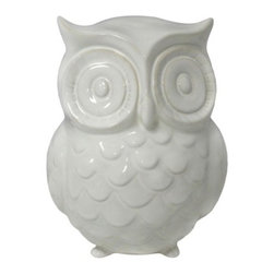Garden Place Owl Statue - What a hoot! How cute would this little guy be sitting in one of your potted plants near your front door? He adds a special little touch.