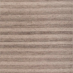 Jaipur Rugs - Textured Eco Friendly Wool Gray/ Area Rug - Flat woven un-dyed wool with different textural elements makes this collection feel both rustic and sophisticated.  The best of both worlds! Origin: India