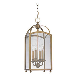 Hudson Valley Lighting - Hudson Valley Lighting 8410-AGB Millbrook 4 Light Pendants in Aged Brass - This 4 light Pendant from the Millbrook collection by Hudson Valley Lighting will enhance your home with a perfect mix of form and function. The features include a Aged Brass finish applied by experts. This item qualifies for free shipping!