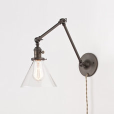 Modern Swing Arm Wall Lamps by Schoolhouse Electric