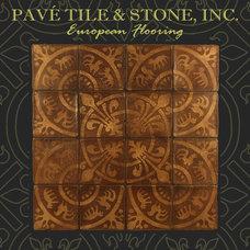 Mediterranean Floors by Pavé Tile, Wood & Stone, Inc.