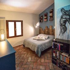 Industrial Bedroom by Rachele Biancalani Studio