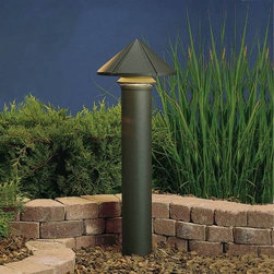 """Kichler - Kichler 15211AZT Six Groove Bronze Path & Spread Light 15211AZT - Textured Architectural Bronze finishBulb Included: No Collection: Six Groove Finish: Textured Architectural Bronze Height: 9.5"""" Number of Lights: 1 Socket 1 Base: Medium Socket 1 Max Wattage: 75 Style: Transitional Type: Path Light Wattage: 75W Width: 11.5"""""""