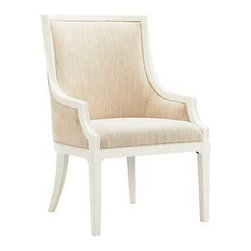 Tommy Bahama Ivory Key Gibbs Hills Host Dining Chair Set of 2 -