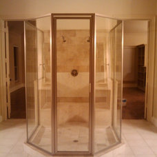 Traditional Shower Stalls And Kits by AC GLASS