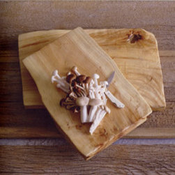 Burl Wood Plank, Long - These are perfect to serve up your appetizers, bread and a cheese spread with rustic style.