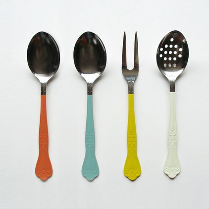 eclectic kitchen tools by Etsy