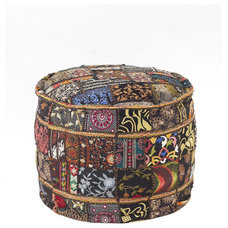 Eclectic Floor Pillows And Poufs by Horchow