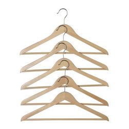 HOPA Clothes-hanger - Clothes-hanger, natural