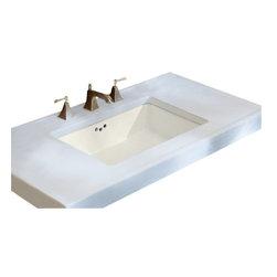 KOHLER - KOHLER K-2297-0 Kathryn Undermount Bathroom Sink - KOHLER K-2297-0 Kathryn Undermount Bathroom Sink in White