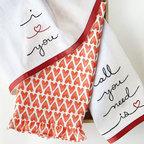Heart Guest Towel -
