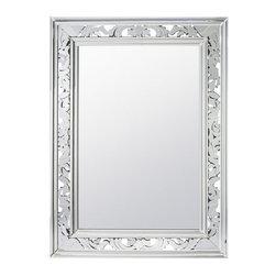 """Kichler - Kichler 78226 Gretchen 46"""" Modern Wall Mounted Mirror - Specifications:"""