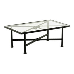 """Sifas USA - Kross Rectangular CoffeeTable - Rustic simplicity and expressive strength characterize this large collection that suits the living room, family room, dining and bar areas. This exceptional technological creation in """"ultra light"""" forged aluminum allows it to resist the worst outdoor conditions. Features: -Coffee table. -Constructed of """"Ultra light"""" forged aluminum. -Weather resistant material. -Overall dimensions: 18"""" H x 43"""" W x 26"""" D."""