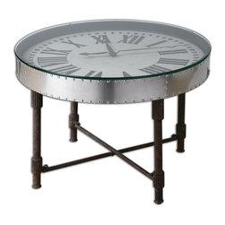 Uttermost - Cassem Clock Table - Cassem Clock Table