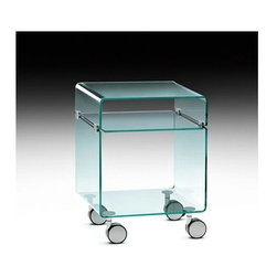 Fiam - C & C Small Trolley   Fiam - Design by Christophe Pillet.