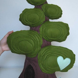 Giant Sequoia Tree - This sequoia introduces your little tree hugger to nature in a soft and cuddly way. Each handmade tree is individual and just waiting to be incorporated into a simple space.