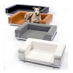 Le Corbusier Dog Sofa - Available in a variety of colors; leather or vinyl upholstery.