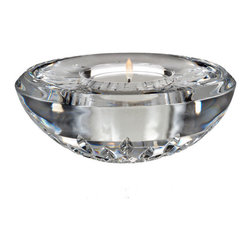 Waterford - Waterford Classic Lismore Votive with Candle - Waterford Classic Lismore Votive with Candle