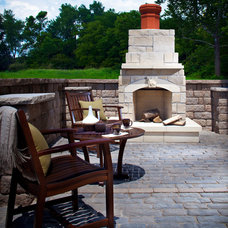 Traditional Fire Pits by Blue Max Materials