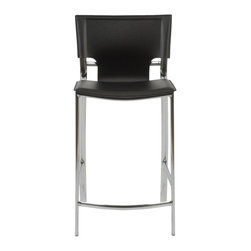 Euro Style - Euro Style Vinnie-C Counter Chair (Pack of 2) X-KLB31271 - Euro Style Vinnie-C Counter Chair (Pack of 2) X-KLB31271