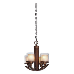 Artcraft Lighting - Transitional 4 Light Up Lighting ChandelierSierra Collection - ARTCRAFT's design team is constantly developing beautiful new styles and finishes and searching the world for components of the highest quality to utilize in designs that will enhance the home.