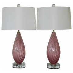 contemporary table lamps by Swank lighting