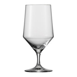 Schott Zwiesel - Schott Zwiesel Tritan Pure 15.2 oz. Beverage/Water Glass - Set of 6 Multicolor - - Shop for Drinkware from Hayneedle.com! With an elegantly squared accent and sleek pedestal base the Schott Zwiesel Tritan Pure 15.2 oz. Beverage/Water Glass - Set of 6 upgrades your tablescape. These glasses are ideal for serving chilled beverages are handcrafted of Tritan crystal glass and are conveniently dishwasher-safe. About Fortessa Inc.You have Fortessa Inc. to thank for the crossover of professional tableware to the consumer market. No longer is classic high-quality tableware the sole domain of fancy restaurants only. By utilizing cutting edge technology to pioneer advanced compositions as well as reinventing traditional bone china Fortessa has paved the way to dominance in the global tableware industry. Founded in 1993 as the Great American Trading Company Inc. the company expanded its offerings to include dinnerware flatware glassware and tabletop accessories becoming a total table operation. In 2000 the company consolidated its offerings under the Fortessa name. With main headquarters in Sterling Virginia Fortessa also operates internationally and can be found wherever fine dining is appreciated. Make sure your home is one of those places by exploring Fortessa's innovative collections.