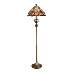 Dale Tiffany - New Dale Tiffany Lamp Brass Metal Pull Chain - Product Details