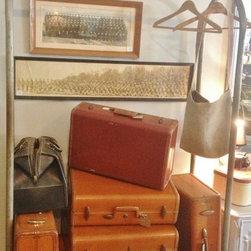 PMD Vintage Gardens Hotel luggage trolly @ Paper Street Market - PMD Vintage