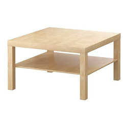IKEA of Sweden - LACK Coffee table - Coffee table, birch effect