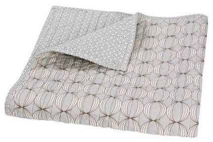 Contemporary Blankets by DwellStudio