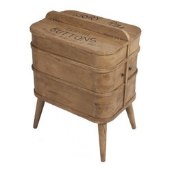 Luxe Home Furnishings - Seamstress Box Accent Table