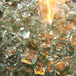 Fire Glass Media Accessories- Ice Gems -