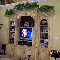 Entertainment Center - Custom Entertainment Center