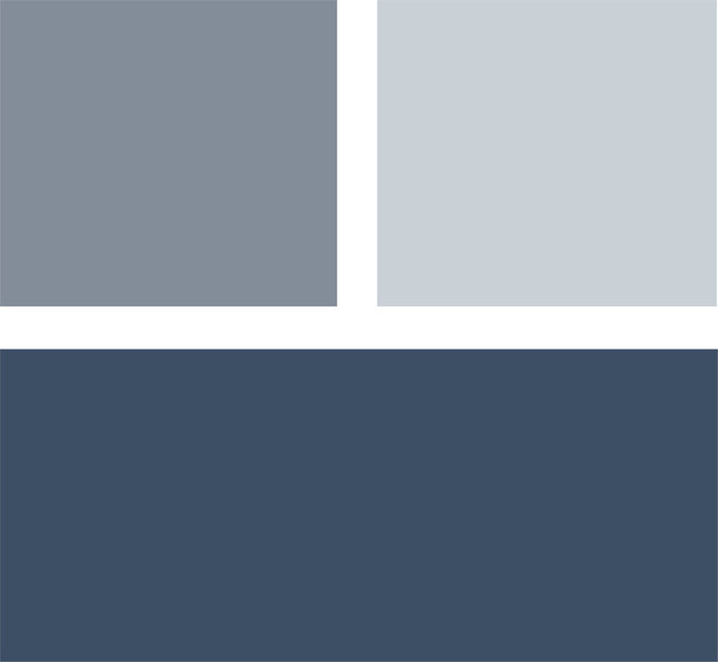 Palatable palettes 8 cool blue bedrooms for Blue gray paint palette