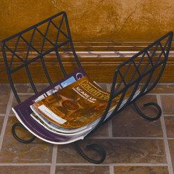 Contemporary magazine racks find magazine holder file for Houzz magazine