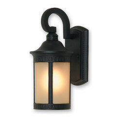 Artcraft Lighting AC8301BK Michigan Black Outdoor Wall Sconce