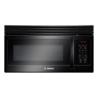 "Bosch 30"" 300 Series Over The Range Microwave, Black | HMV3061U - 10 LEVEL COOK POWER"