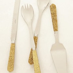 Anthropologie - Glittering Serveware - *Acrylic, stainless steel