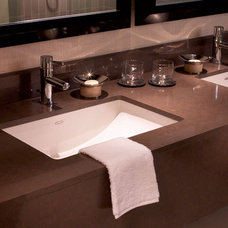 Traditional Bathroom by Caesarstone