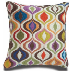 eclectic pillows by Jonathan Adler